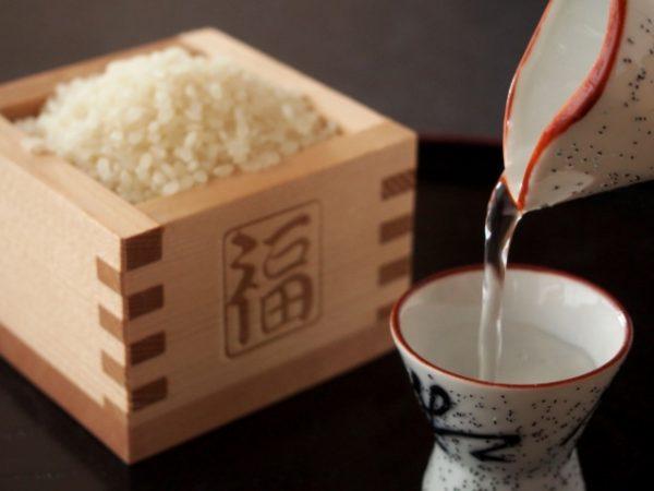 米と日本酒