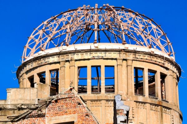 原爆ドームの屋根