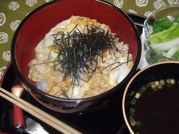 納豆玉丼 by:さちくっかりーさん