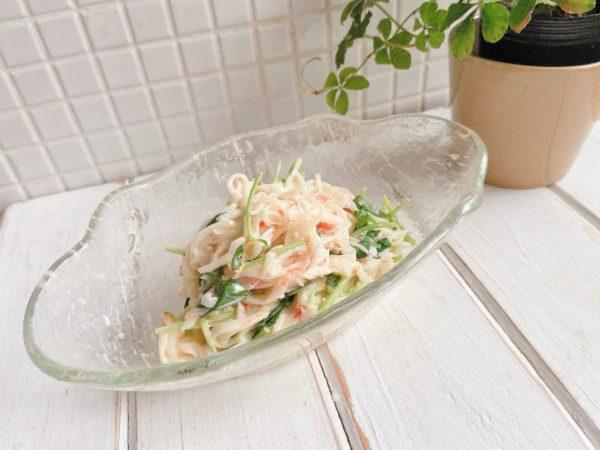 大量消費レシピ!カニカマで簡単「大根のぽんマヨサラダ」の作り置きbyMayu*さん