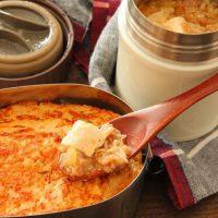とろみ付けが簡単♪「スープジャー麻婆豆腐」「野菜オムレツ」2品弁当