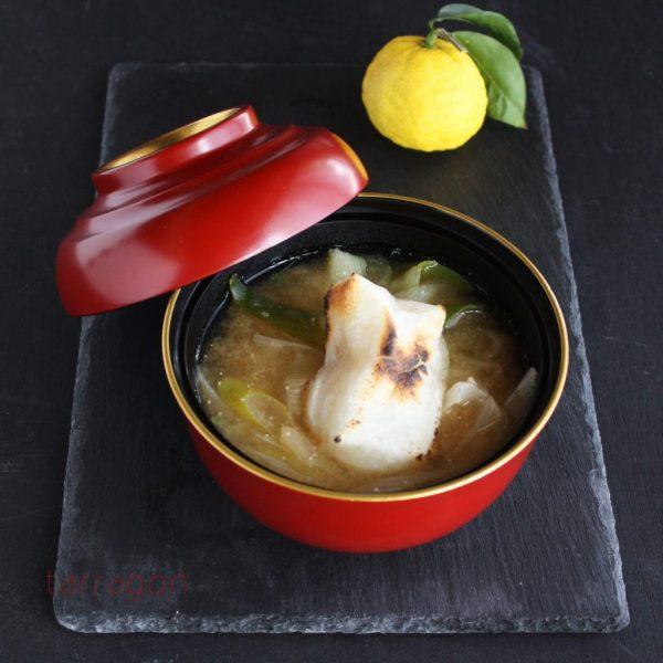 鶏がらスープの素で簡単♪明太子のぷちぷちにハマる「ねぎだく雑煮」 by:タラゴン(奥津純子)さん