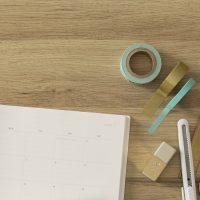 手帳にマステを貼るだけ!なりたい自分に近づく簡単「モチベーションアップ」術♪