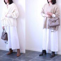 着心地のいいおうち着で春を楽しむ!「白ワンピ」着回し術3つ