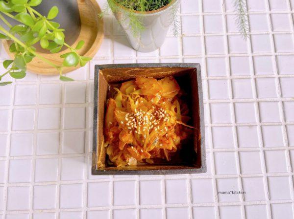 簡単作り置きで免疫力アップ!ご飯がすすむ「ネギマヨキムチ」