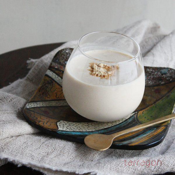 混ぜるだけ!腹持ちも美肌効果も◎「きな粉ヨーグルトミルク」
