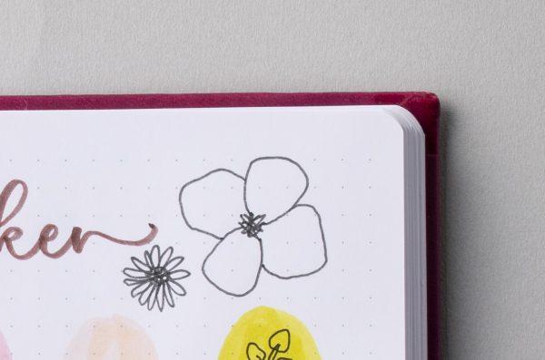 ひと手間で見た目もやる気もアップ!「手帳に空いたスペース」簡単活用術