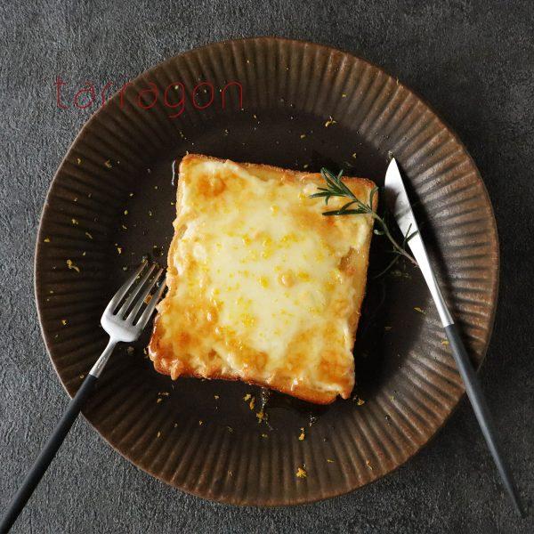 甘塩っぱさがクセになる!簡単「はちみつレモンチーズトースト」♪