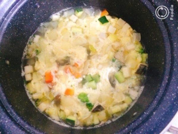 【ヘルシー】フワフワ卵の野菜たっぷりコンソメスープ by:藤本あゆみ 美容料理研究家さん