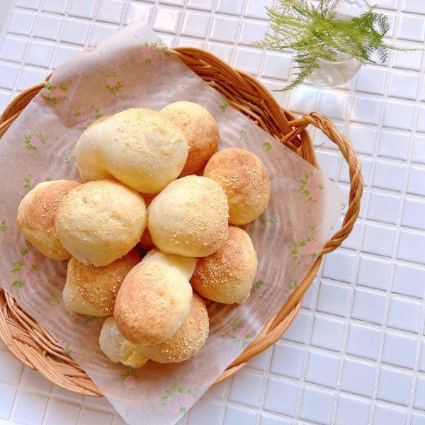 卵いらずで簡単!お餅を混ぜて焼くだけ「ポンデケージョ」の作り置き