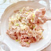 ご飯がススム炒め物!簡単「豚肉のネギ塩レモン」の作り置き
