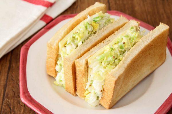 トーストに挟んで大量消費!「白菜マヨ&チーズサンドイッチ」 by:五十嵐ゆかりさん