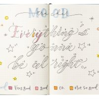 ノート+ペンだけ!気分を色で見える化する「ムードトラッカー」手帳術♪