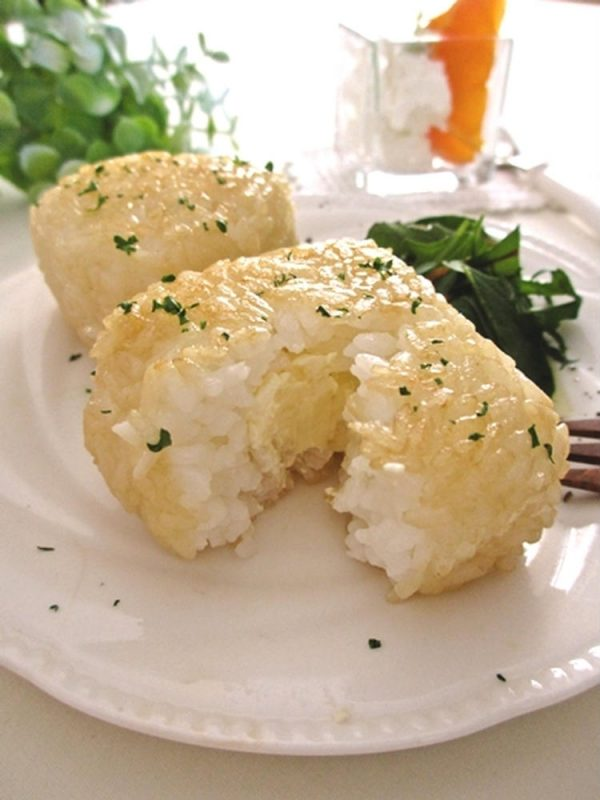 チーズイン♪バター焼きおにぎり…byみっこ*mikkoさん