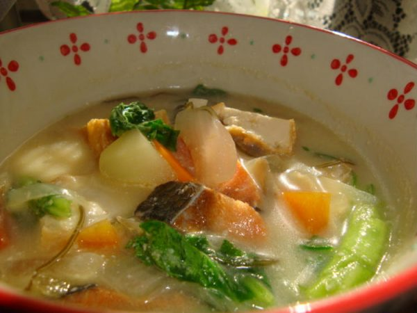 *ほっこり温か豆乳味噌スープ* by:happyspiceさん