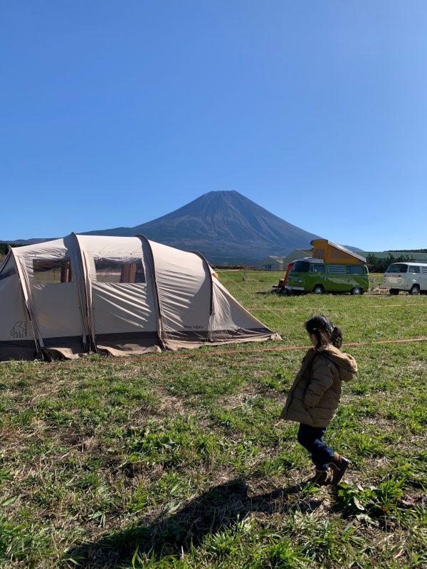 長田麻美さん_キャンプ場での朝時間
