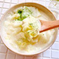手間も失敗もナシ!簡単「白菜だけのクリーム煮」の作り置き