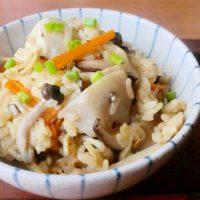 食物繊維でお通じ改善!簡単「炊き込みご飯」レシピ4選