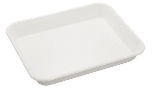 すっきりシンプル♪オーブンにも使える「野田琺瑯バット ホワイトシリーズ」