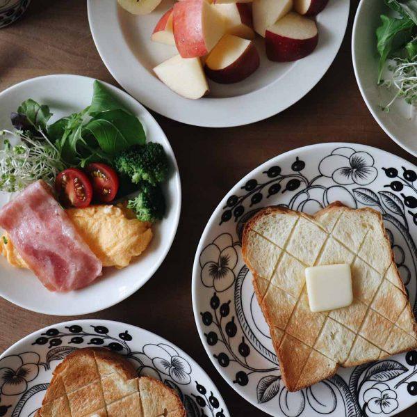 朝美人アンバサダー_朝食の彩り