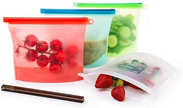 シリコン食品保存バッグ