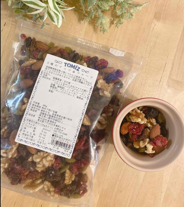 朝美人アンバサダー_Rinaさん朝食ナッツ
