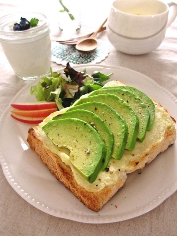 クリームチーズ&アボカドのトースト… by:みっこ*mikkoさん