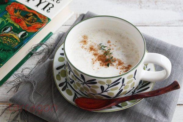 ミキサーいらず!冬の朝にうれしい甘さ♪簡単「ホットバナナミルク」  by :タラゴン(奥津純子)さん