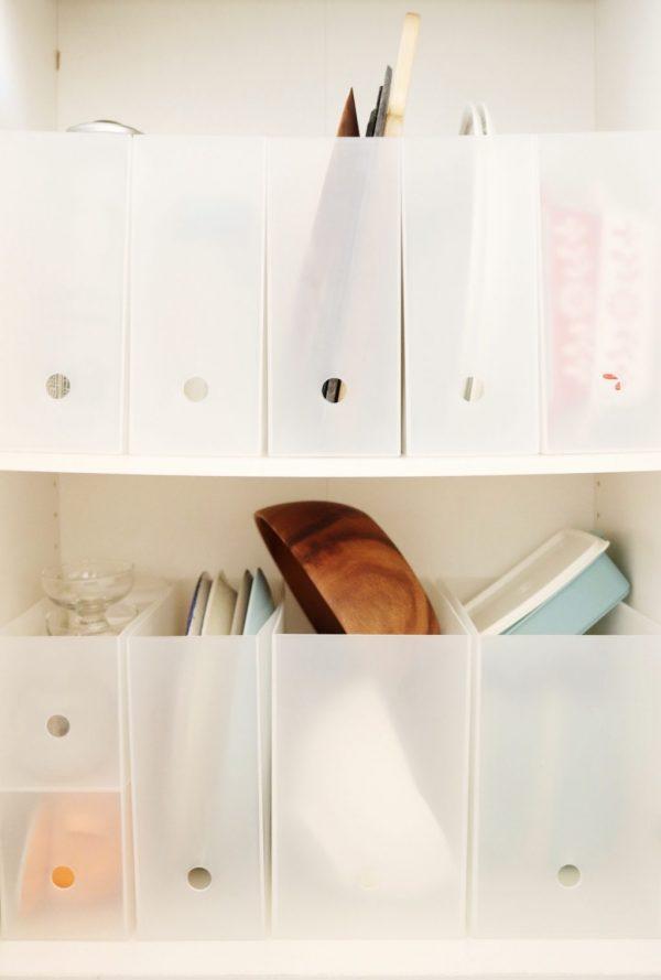 「無印良品」の3アイテムで!食器棚を簡単に使いやすくする方法byゆりんごさん