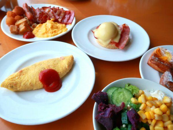 朝美人アンバサダーまきさん_ホテル朝食