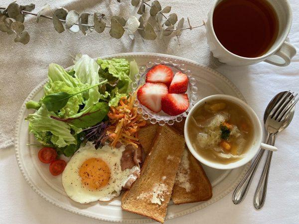 朝美人アンバサダーゆっきぃさん_作り置き活用の朝食