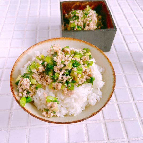 10分で簡単!白いご飯が進む「ネギ豚のあったかふりかけ」の作り置き