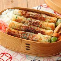 肉も魚も不要!簡単「ちくわ磯辺焼き」「野菜キンピラ」2品弁当
