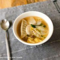 簡単☆韓国式スープ「トックッ」
