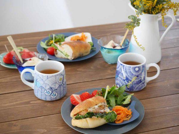 朝美人アンバサダーあゆみさん_パン朝食