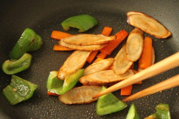 野菜のキンピラ