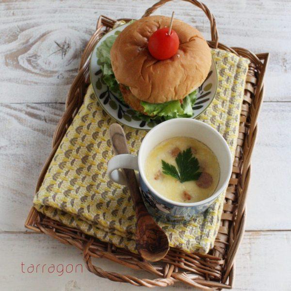レンジ+マグカップで簡単♪とろ〜りチーズの「洋風茶碗蒸し」byタラゴン(奥津純子)さん