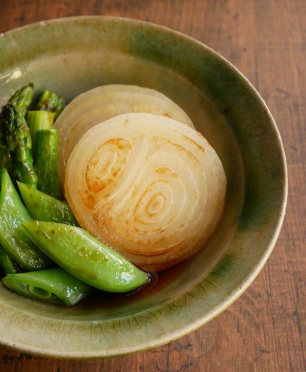 焼いて漬けるだけ!めんつゆで簡単「春野菜の焼き浸し」