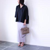 普段使いにぴったり!【ユニクロ+J】ドルマンスリーブシャツ着回し3パターン