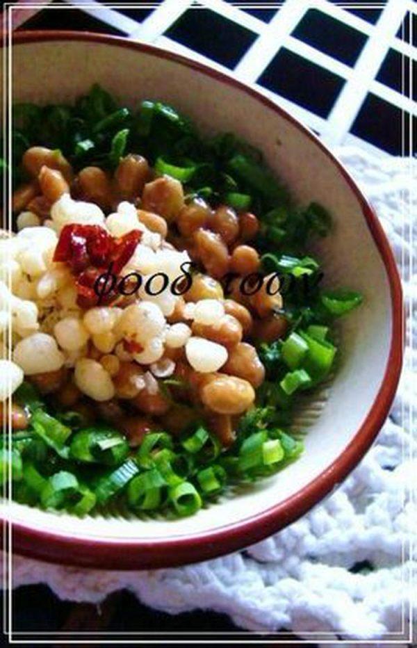 たぬきラ―油 納豆