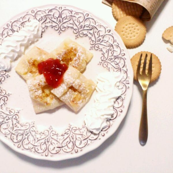 フライパンで☆簡単もちもちアップルパイ。 by:フードコーディネーターYUKIさん