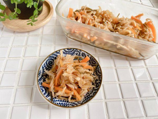 塩昆布が決め手!簡単「切り干し大根の煮物」の作り置き by:Mayu*さん