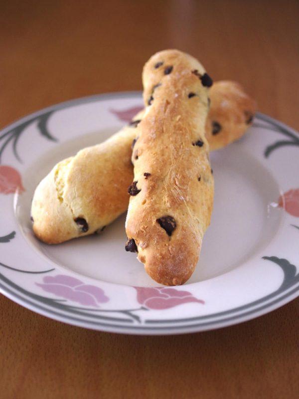 ホットケーキミックスでつくる、超簡単チョコスティックパン by:めろんぱんママさん