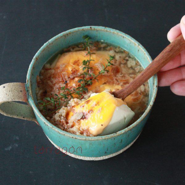 5分で簡単!ダイエット中もしっかり食べられる「豆腐のオニグラスープ」♪