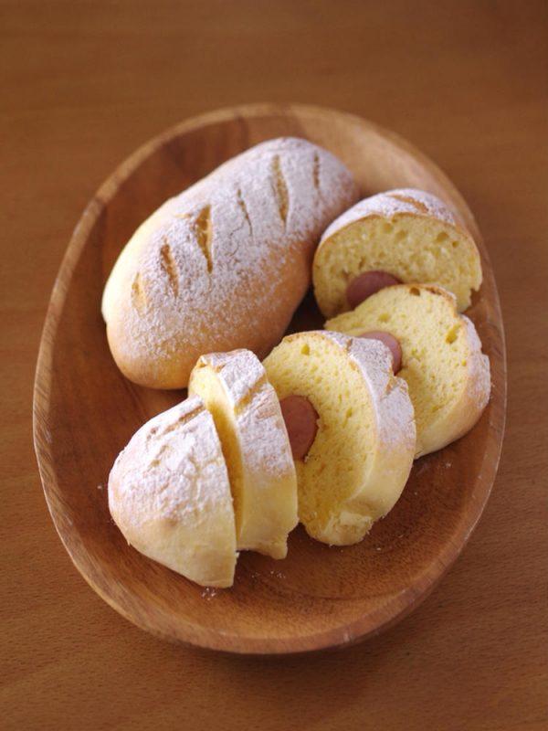 ホットケーキミックスで作る簡単パン☆ソーセージドッグ by:めろんぱんママさん