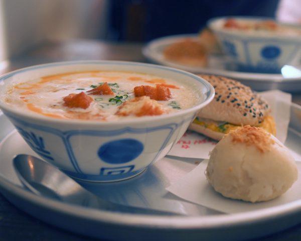 豆乳スープ鹹豆漿