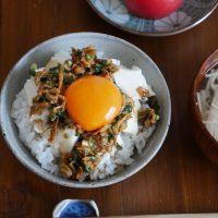 やる気の出ない朝はこれに決まり♪5分で作れる「丼ぶり」レシピ3選