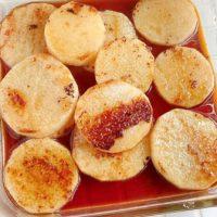 シャキとろ食感がたまらない!簡単「焼き長芋の甘酢漬け」の作り置き