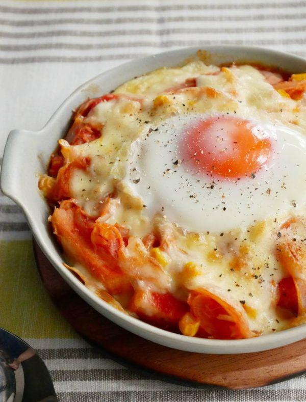 トマトジュースを使って簡単!お手軽「パングラタン」