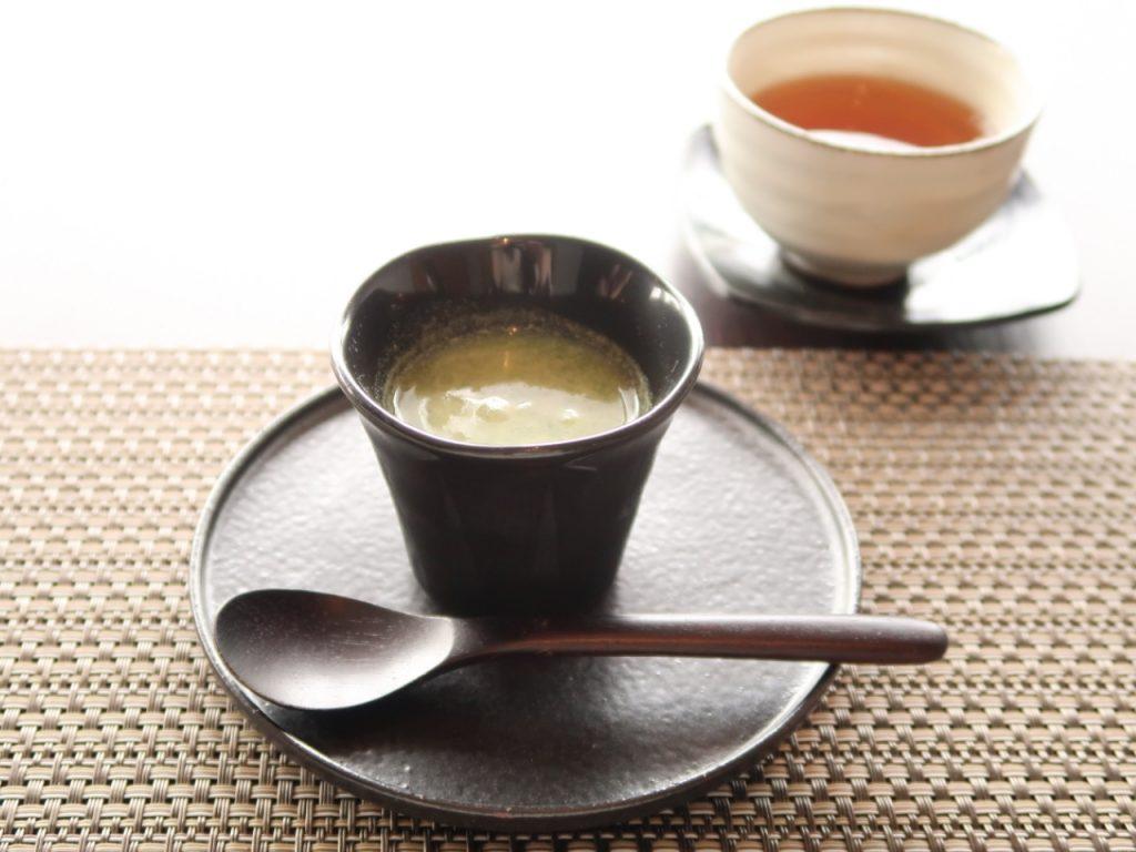 ブロッコリーと抹茶のスムージー